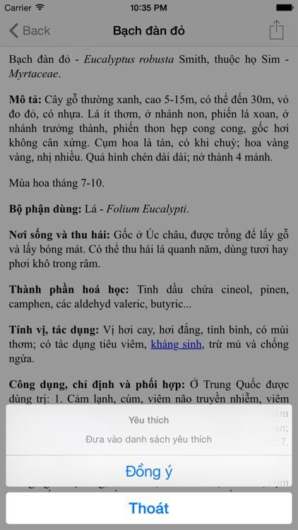 Từ điển cây thuốc screenshot-3
