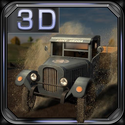 Army War Truck 3D Racer