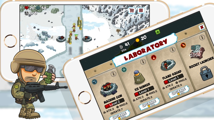 Arctic Defences - Defend Your Island And Beach From The Zombie Dictator