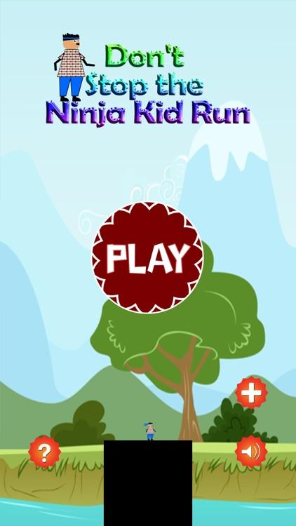 Don't Stop the Ninja Kid Run - Endless Arcade Hopper