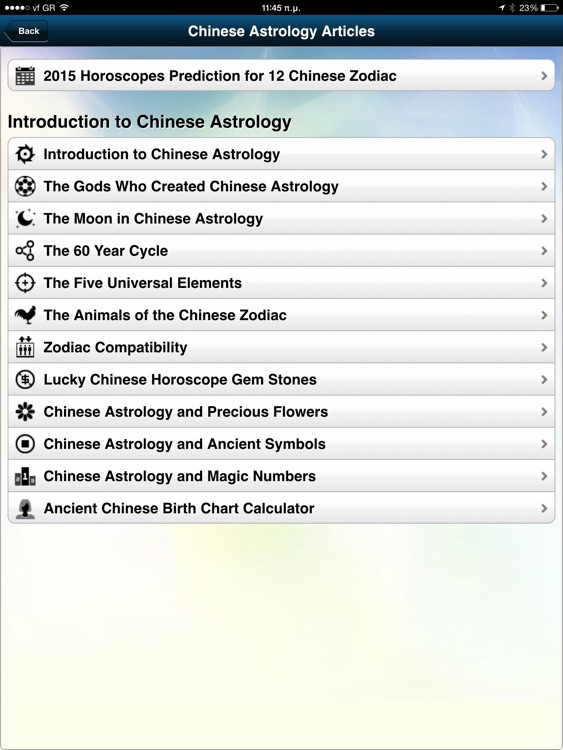 Chinese Astrology Pro HD
