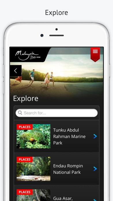 Malaysia Trip Planner screenshot two