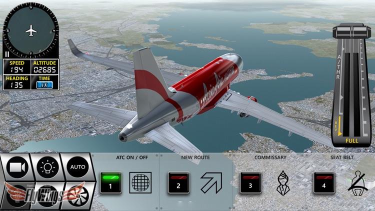 Flight Simulator FlyWings Online 2016 HD screenshot-3