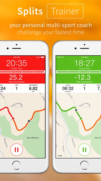 Splits Trainer – GPS Multi–Sport Trainer