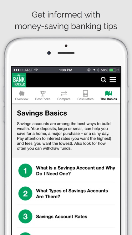 MyBankTracker - Find Top-Rated Banks and Get FREE Personal Finance Advice. screenshot-3