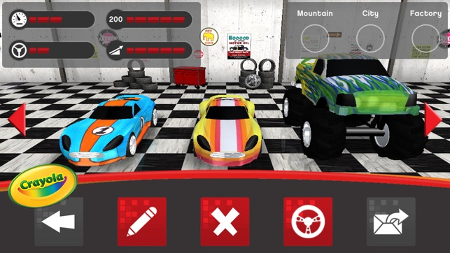 Crayola Design & Drive on the App Store