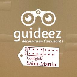 Guideez à la collégiale Saint-Martin d'Angers