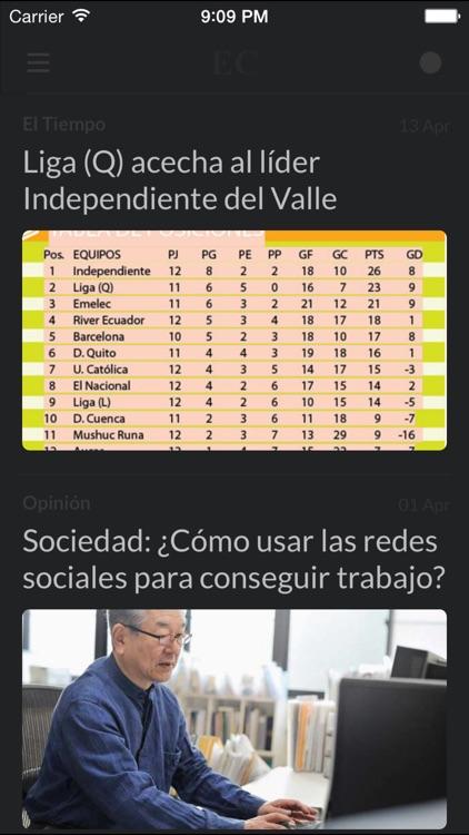 Periódicos EC - Los mejores diarios y noticias de la prensa en Ecuador screenshot-4