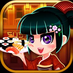 A Sushi Diner Shop - Japanese Chef Food Maker Restaurant