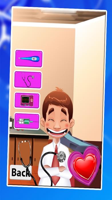 膝の手術 - クレイジー小さな外科医のための仮想医師&病院のゲームのスクリーンショット3