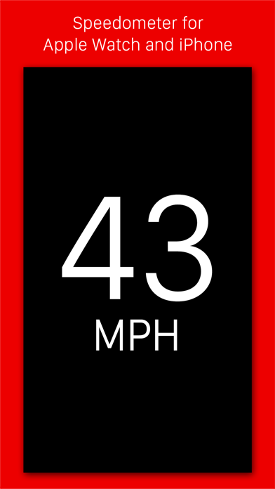 Speedometer - Speed tracking app for iPhone and Apple Watchのおすすめ画像1