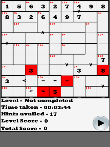 Greater than Killer-Sudoku | App Price Drops