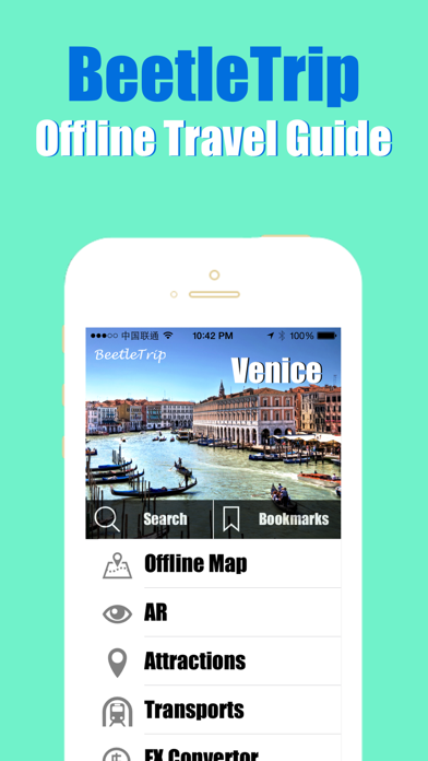 Venice travel guide and offline city map, BeetleTrip