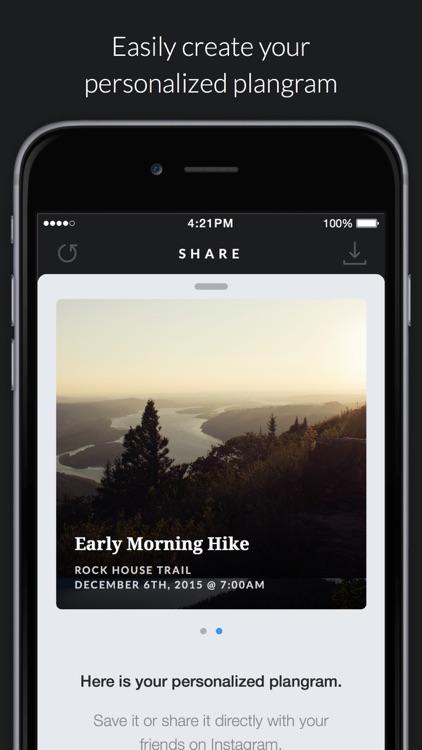 Plangram - Share and make plans via Instagram Direct