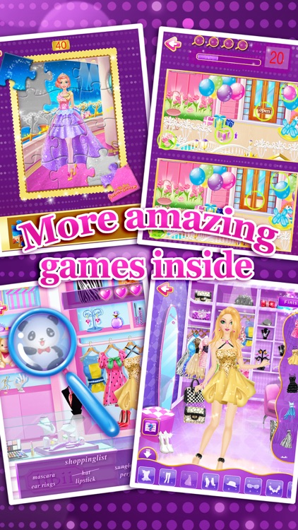 Fashion Salon™ - Girls Makeup, Dressup and Makeover Games screenshot-4