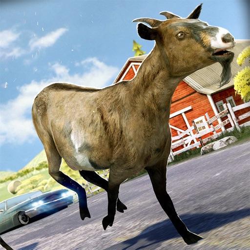 псих козел . бесплатно Козы симулятор животные игра 3д Для детей