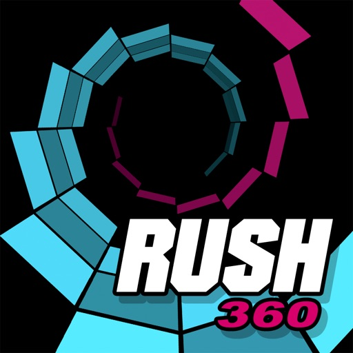 Rush 360 - Race to the rhythm of the soundtrack by Ink Arena