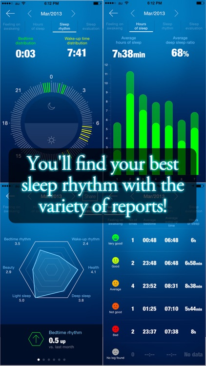 Smart Sleep Manager: Sleep log