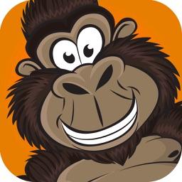 Donkey Monkey King of the Jungle Gorrila Style Vegas Slot Machine FREE