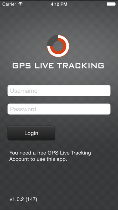 GPS Live Tracking screenshot two