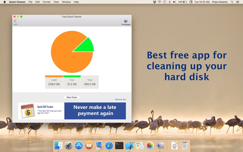 Free Quick Cleaner Screenshot