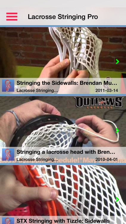 Lacrosse Stringing Pro