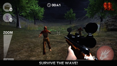 Zombies Battle Shooter 3D Call to Kill Scary Dead Zombie Army screenshot two