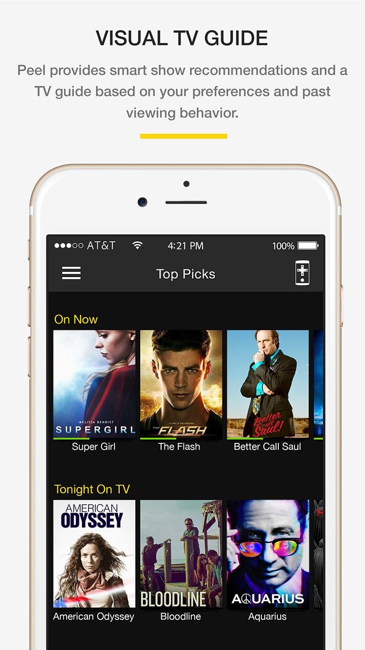 Smart TV Remote Control Screenshot