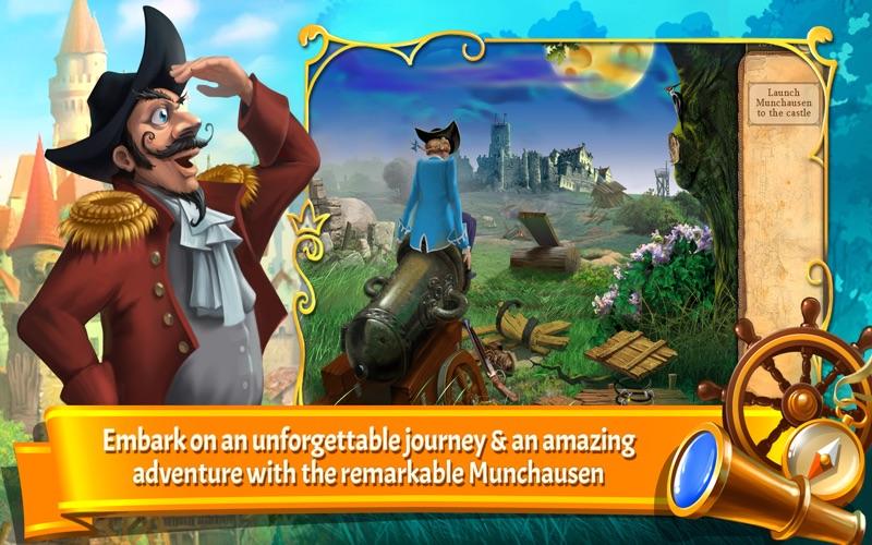 The Surprising Adventures of Munchausen (Full) screenshot 1