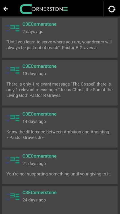 Cornerstone Community Church screenshot-3