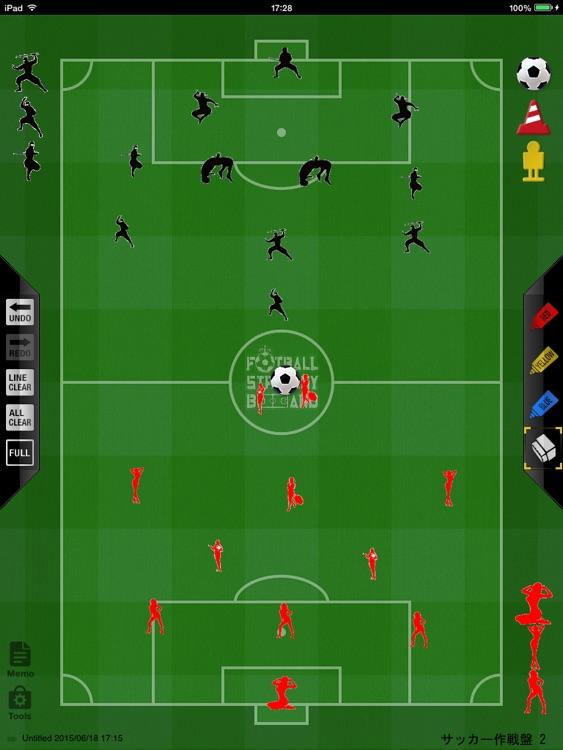 Soccer strategy board 2