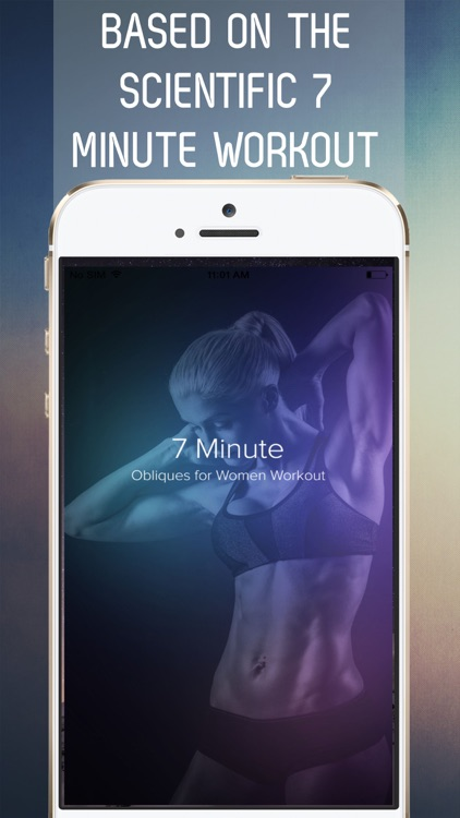 7 Minute Obliques Workout for Women At Home