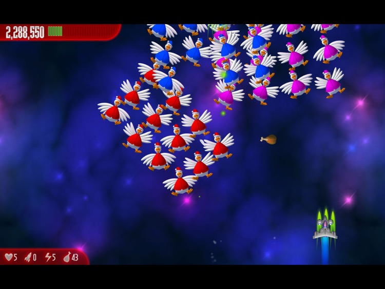 Chicken Invaders 3 Xmas HD screenshot-4