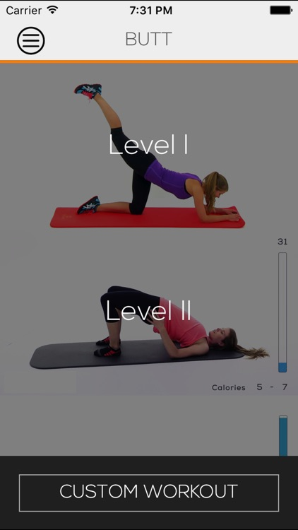 """Butt - Custom Workout """"Exercise Playlist"""" to tone, tighten and lift"""