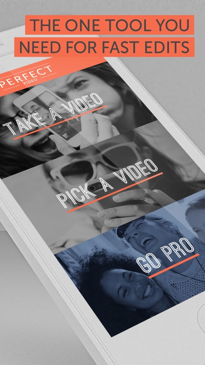 Perfect Video - Square Shape & Trim Videos for Instagram screenshot-3