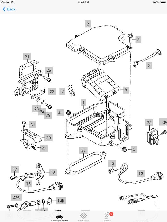 Audi Pièces Et Schémas Dans L'app Store: Audi A6 Epb Wiring Diagram At Hrqsolutions.co