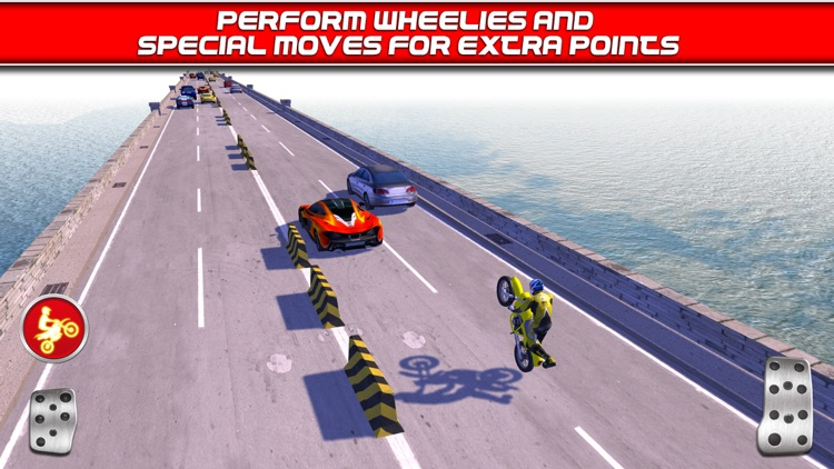 Bike Traffic Race Mania a Real Endless Road Racing Run Game screenshot-3