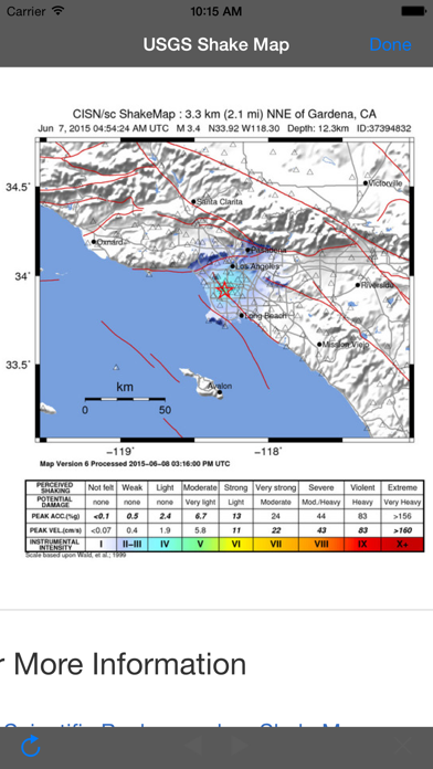 iFeltThat Earthquake screenshot1