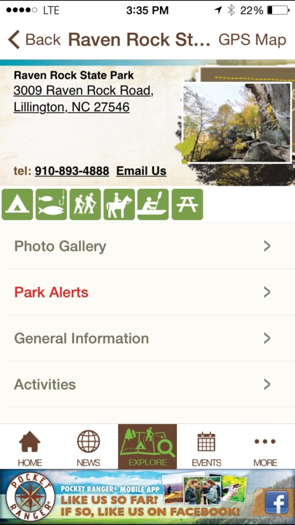 North Carolina State Parks Guide- Pocket Ranger® screenshot-4