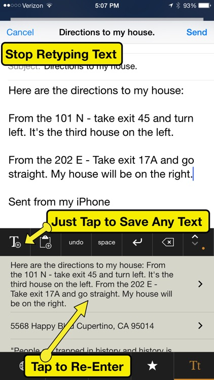 Superboard - Save text snippets, make custom keys & keyboards, without using clipboard!