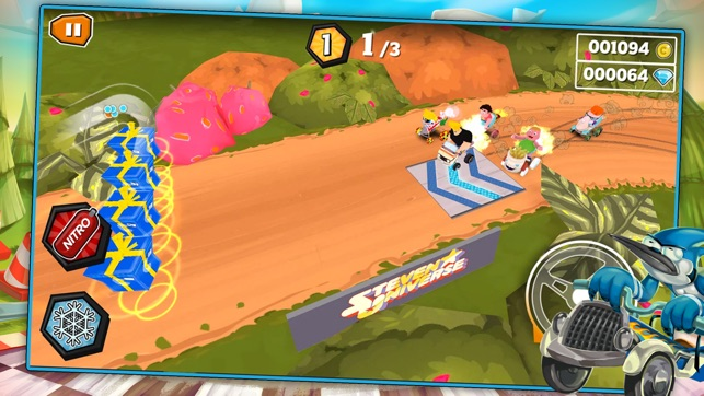 formula cartoon all stars crazy cart racing with your favorite