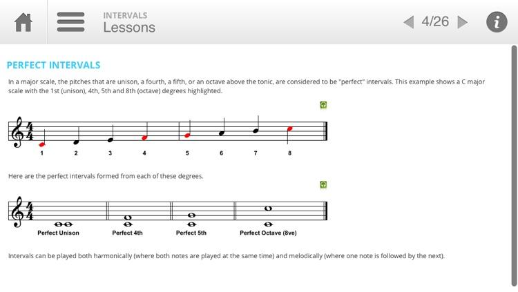 Musition Intervals