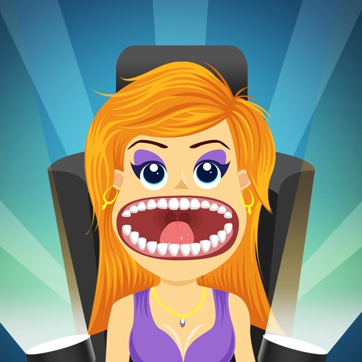 Crazy Virtual Celebrity Dentist Pro - new teeth doctor game