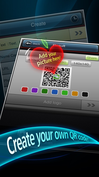 ^QRCode Reader & Creator screenshot-0