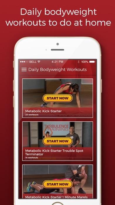Daily Bodyweight Workoutsのおすすめ画像1