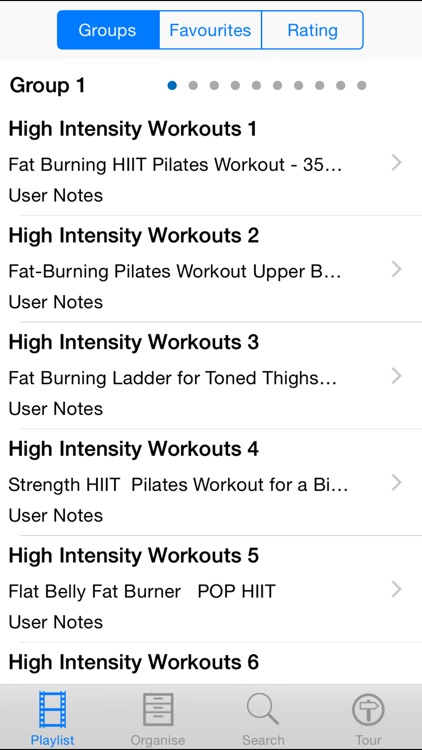 High Intensity Workouts screenshot-1
