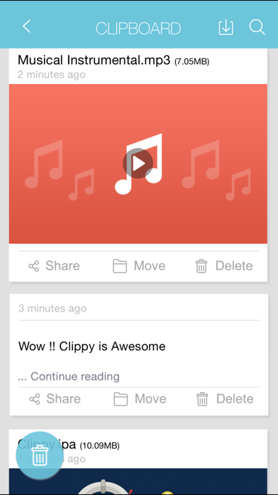 Clippy - Transmit anything between iOS and Mac wirelessly