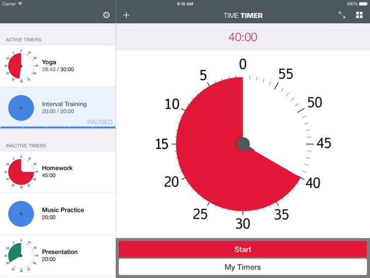 Time Timer: iPad Edition screenshot-0