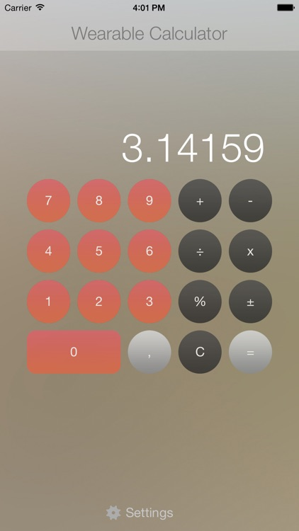 Wearable Calculator for Apple Watch