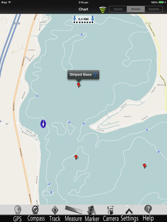Michigan Lakes GPS Charts Pro screenshot-2